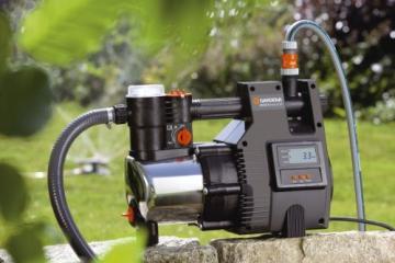 gardena premium hauswasserautomat 6000 5 inox lcd. Black Bedroom Furniture Sets. Home Design Ideas