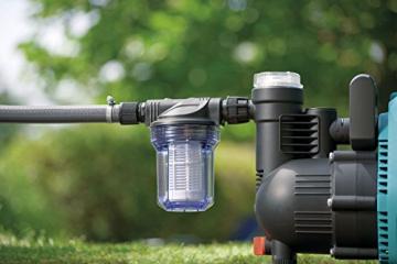 Gardena 1731-20 Pumpen-Vorfilter, Wasserdurchfluss bis 3.000 l/h -