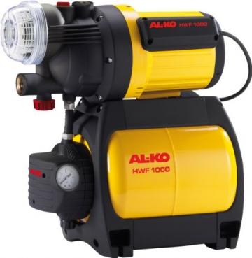 AL-KO  112443   HWF 1000 Hauswasserwerk, 4000 L/h , inklusive XXL-Vorfilter - 1