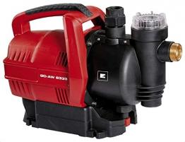 Einhell Hauswasserautomat GC-AW 6333 (630 W, 3300 l/h Fördermenge, elektr. Durchflusschalter, Automatikfunktion) - 1