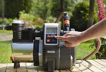 Gardena Hauswasserautomat 6000/6E LCD Inox #1760, 01760-20 - 4