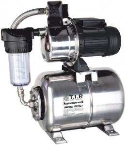 T.I.P. 31155 Hauswasserwerk HWW Inox 1300 Plus F Edelstahl mit Vorfilter - 1