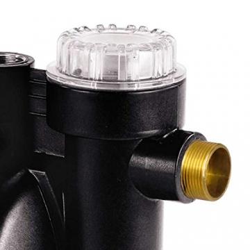 Einhell Hauswasserautomat GC-AW 9036 (900 W, 3600 l/h Fördermenge, max. Förderhöhe 43 m, elektr. Durchflussschalter, Automatikfunktion) - 5