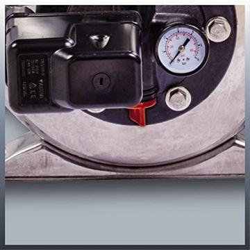 Einhell Hauswasserwerk GC-WW 1250 NN (1200 W, 5000 L/h Max. Fördermenge, Max. Förderdruck 5 bar, Druckschalter, Manometer, 20 L Behälter) - 2