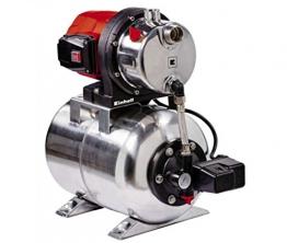 Einhell Hauswasserwerk GC-WW 1250 NN (1200 W, 5000 L/h Max. Fördermenge, Max. Förderdruck 5 bar, Druckschalter, Manometer, 20 L Behälter) - 1